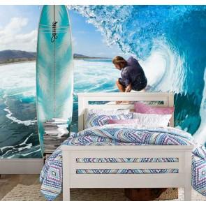 Surfen tussen de golven