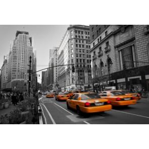 Vlies fotobehang Taxi in Manhattan