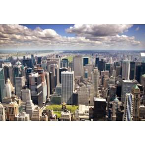 Vlies fotobehang Uptown Manhattan