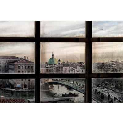 Vlies fotobehang Brug Venetië