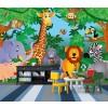 Kinder fotobehang In the jungle